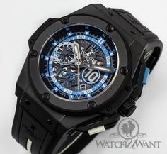 #Hublot Big Bang King Power Chronograph - Diego Maradona Special Edition Chronograph - Limited Edition 500 Pieces - $20,995