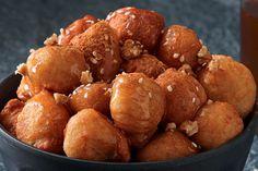 the Greek donuts Greek Donuts, Pretzel Bites, Doughnuts, Sweet Treats, Sweets, Bread, Cookies, Breakfast, Cake