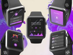 Music App (iWatch Version)