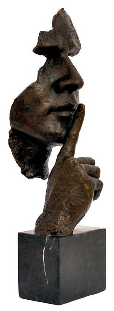 Stillness Speaks Hommage to Dalì Great Bronze Sculpture Bronze