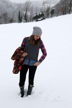 86c0558f989 13 imágenes encantadoras Look para días de nieve.