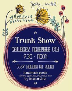 Trunk Show, Koloa, Kauai - November 8, 2014   Ivy & Co.