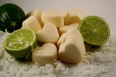Soy Wax Melts - Soy Wax Tarts - Coconut Lime Scented Wax Melts/Tarts  | blackberrythyme - Candles on ArtFire