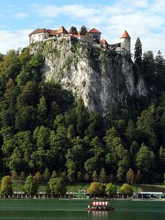 Lake Bled Castle, Bled, Slovenia - we just walked up the trail to the castle this morning. Absolutely breathtaking!