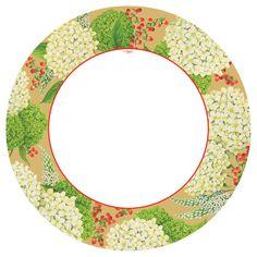 caspari secret garden ivory floral printed square paper dinner