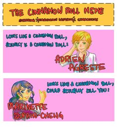 I can't believe I filled out the cinnamon roll meme with just two peopleBonus: