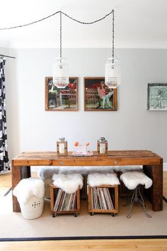 Dining rooms don't have to be formal or stuffy. We're all about a boho chic dining space, too! Check out these 40 dining rooms that master boho interior design. For more dining room design ideas, go to Domino! Dining Room Design, Dining Room Chairs, Dining Room Furniture, Dining Area, Dining Rooms, Dining Tables, Wood Furniture, Furniture Ideas, Furniture Design