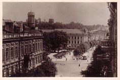Old Vilnius, Gedimino porspectus (ex Stalin pr) 1950. Photo M.Fligelis