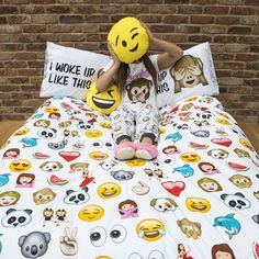 """When we need a little pick me up in #HQ we go to the  corner!  Bedlinen from…"