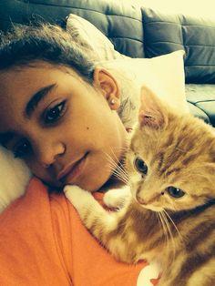 Moi et mon chats