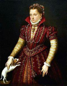 Ritratto di Costanza Alidosi. 1584. Olio su tela. Washington National Museum of Women in the Arts