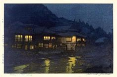 Evening at the Hot Springs