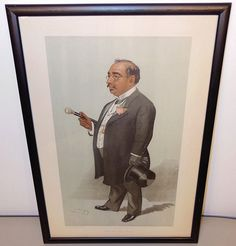 Vanity Fair 1897 Spy Lithograph North East Bethnal Green Bhownaggree caricature