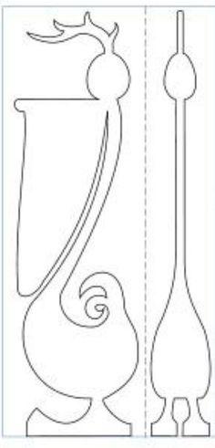 Scroll Saw Woodworking & Patterns | 3D Tulip | Scroll Saw ...