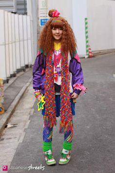 Hippie style Japanese Street Fashion, Tokyo Fashion, Harajuku Fashion, Lolita Fashion, Harajuku Style, Japanese Streets, Hippie Fashion, Tokyo Street Style, Street Style Women