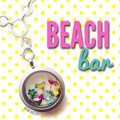#Margarita, #Cosmopolitan, & Coconut drink charms from #OrigamiOwl.  #vacation #locket.