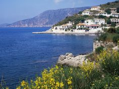 I want to go to Greece so I can eat everything in sight and just look out across the water.