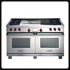 featuring six dualstacked sealed burners and two convection gas ovens with infrared broilers