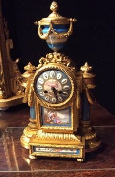 AT1114 Mantel Clock http://pageantiques.com.au/