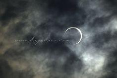 5.21 '12 Annular solar eclipse 7:36am by higehiro, via Flickr