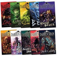 The Demonata serie by Darren Shan. My favorite of all. Story is hard to explain but still amazing. If you like slaying demons, gore and sarcasm, you should check these books out!