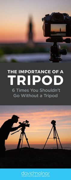 Sure it's tempting to skip the tripod - but should you? Here are six times you should definitely opt for a tripod for crisper, clearer, tack-sharp photos! Types Of Photography, Photography Tutorials, Amazing Photography, Nature Photography, Travel Photography, Learn Photography, Photography Ideas, Best Photographers, Landscape Photographers