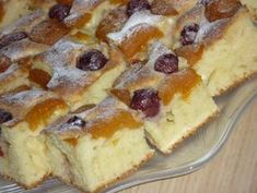 Barackos-meggyes-túrós süti (cukormentes) recept lépés 8 foto French Toast, Breakfast, Food, Morning Coffee, Essen, Meals, Yemek, Eten