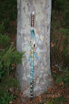 Bohemian Beach Walking Staff by BohoSoCalStyle on Etsy