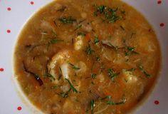 Podzimní polévka s houbami Curry, Ethnic Recipes, Food, Curries, Essen, Meals, Yemek, Eten