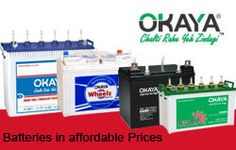 To buy a good battery for your inverter, car, rickshaws & other vehicle you can trust in the Okaya Power and it will never let you down. With a range of inverter batteries varying according to user needs these Okaya inverter batteries are perfect for any brand of inverters available in the market.
