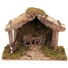 Christmas Crib Ideas, Christmas Nativity Set, Noel Christmas, Christmas Crafts, Xmas, Candelabra Flowers, Vintage Bookmarks, Nativity Stable, Personalized Bookmarks