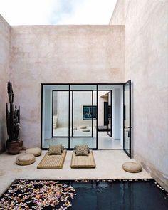 Maison Palmeraie // Marrakech, Marocco - designed by architect Helena Marczewski and Belgian interior designer Esther Gutmer