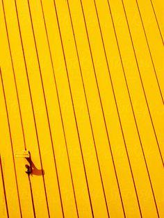 Stock photo of Yellow Garage Door by visualspectrum Orange Pastel, Jaune Orange, Orange Yellow, Mustard Yellow, Yellow Art, Mellow Yellow, Color Yellow, Color Explosion, Yellow Fever