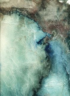 ♂ Color inspiration texture by Crystal Campbell - neutral, blue denim, aqua mint