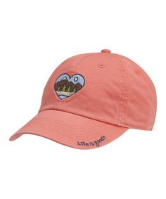 fe3b5a14f3f Sunset Coral Wild at Heart Chill Baseball Cap -
