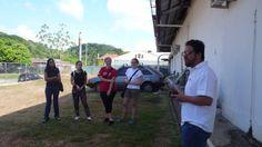 El Sr. Xavir Castellanos Director de la Oficina de Zona para Amréica de la Federación Internacional de la Cruz Roja dirije algunas palabras a los participantes de EnAmorArtre