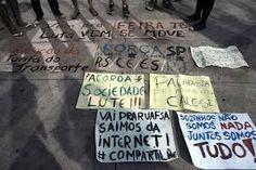 """Folha certa : Movimento """"vem pra Rua"""", diminuiu o número de part..."""