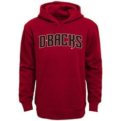 MLB Arizona Diamondbacks Boys 4-7 Embroidered Woodmark Hoodie, Small (4), Bright Cardinal  https://allstarsportsfan.com/product/mlb-arizona-diamondbacks-boys-4-7-embroidered-woodmark-hoodie-small-4-bright-cardinal/  Officially licensed by the MLB Designed for a long-lasting wear that requires little maintenance Support your favorite team from the comfort of a hoodie