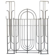 Art Deco Gate by Warren McArthur | From a unique collection of antique and modern architectural elements at https://www.1stdibs.com/furniture/building-garden/architectural-elements/