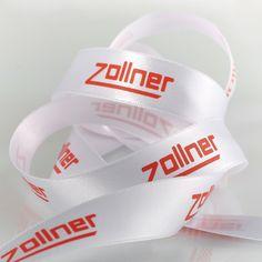 Zollner Elektrotechnik Geschenkband #createam #image #schleifenband #satinband #banddruck #logoband #bandweberei #ribbons #imageribbons #satinribbons #namensbaender #geschenkband #packaging