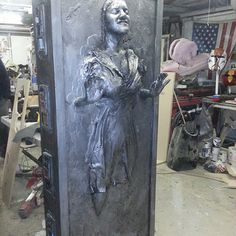 How to Encase Your Friends in Carbonite (seriously, this has step-by-step instructions for life casting anyone so it looks like they are encased in carbonite)