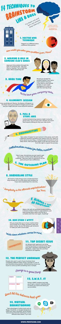 14 Techniques That Will Make You Brainstorm Like a God