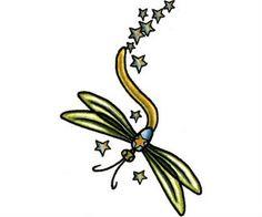Dragonfly Tattoo Design Idea
