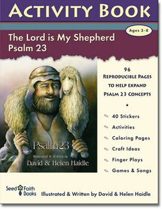 Psalm 23 Activity Book