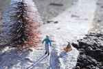 This is too cute for words. Click through to http://slinkachu.com/little-people for the whole gallery of miniature installations.