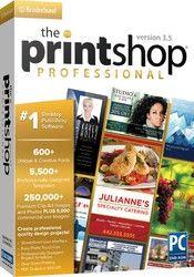 THE PRINT SHOP PROFESSIONAL 3.5 DSA (WIN XP,VISTA,WIN 7,WIN 8)