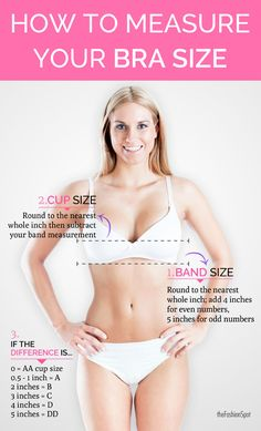 Just remember, the right bra can change your life!