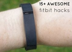 Really curious to try FitBit Hacks - 15 DIY Tips, Tricks and Cool Ways to Use Your Fitness Tracker Fitness Tracker, You Fitness, Fitness Diet, Fitness Motivation, Health Fitness, Fitness Gadgets, Fitness Hacks, Fitness Goals, Tips And Tricks