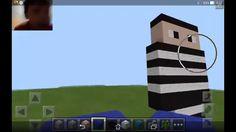 Как построить стива в Майнкрафт