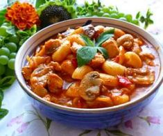 Polish Recipes, Polish Food, Chana Masala, Thai Red Curry, Slow Cooker, Chili, Grilling, Soup, Menu